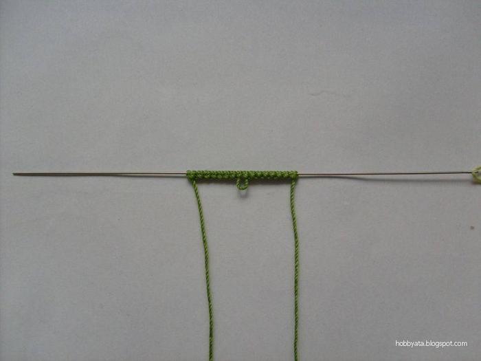Игла для вязания фриволите 432