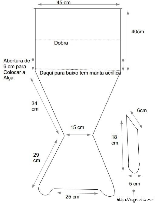 слинг для стула шьем сами (3)