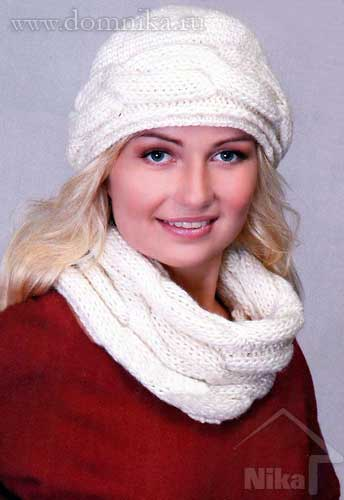 Схемы вязания шарфов 30