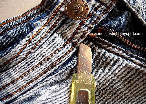 Если джинсы не застегиваются на талии. Переделка (7) (504x360, 295Kb)