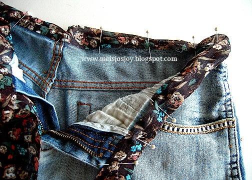 Если джинсы не застегиваются на талии. Переделка (10) (504x360, 248Kb)