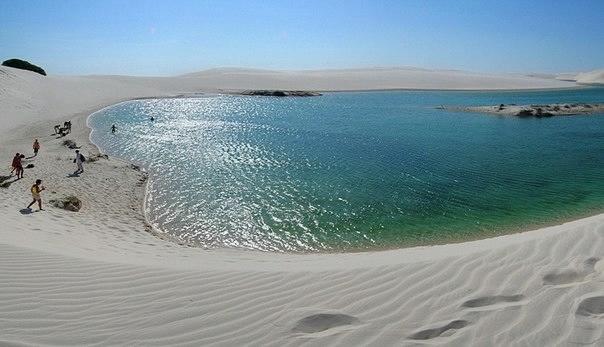 белые песок Ленсойc-Мараньенсес бразилия фото 2 (604x347, 101Kb)