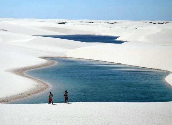 белые песок Ленсойc-Мараньенсес бразилия фото 6 (604x440, 91Kb)