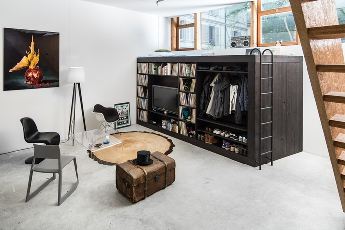 дизайнерский шкаф Living Cube фото (700x467, 215Kb)