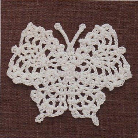 Салфетки ирландского вязания