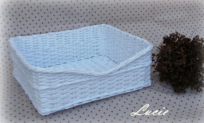 Плетение из газет. Мастер-класс по плетению скошенного верха корзинки (26) (700x421, 505Kb)