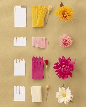 Мк. цветы из бумаги