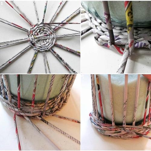 Трубочки для плетения из газет (500x500, 221Kb)