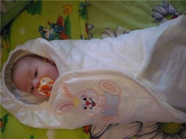 Конверт для новорожденных своими руками мастер класс