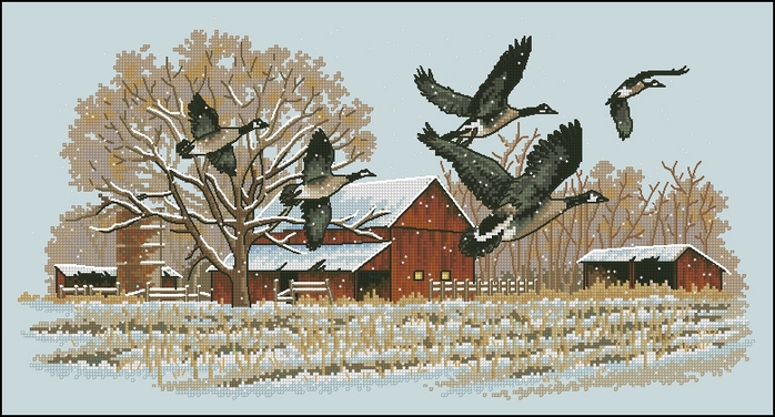 Dimensions13732_Winter_Geese (700x376, 214Kb)
