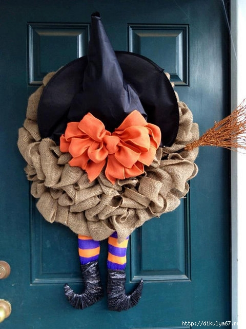 burlap-witch-wreath (480x640, 184Kb)
