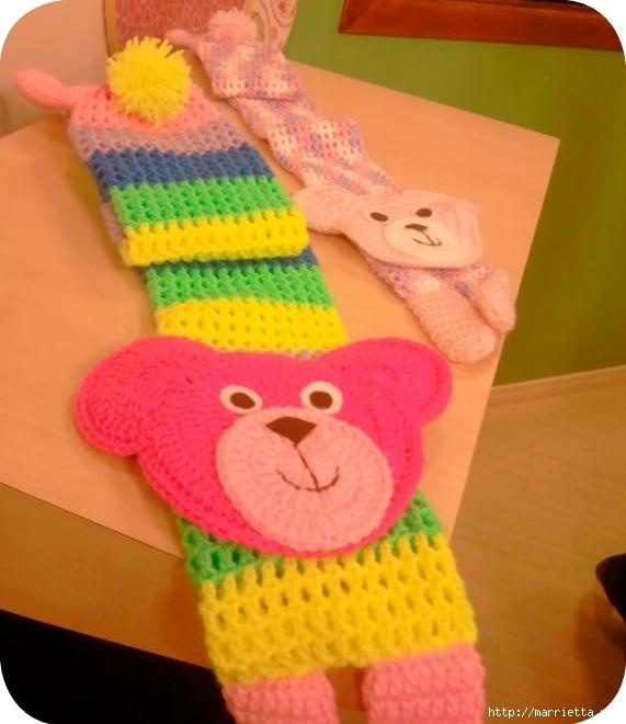 Детский шарфик крючком, с мишкой (2) (571x660, 170Kb)