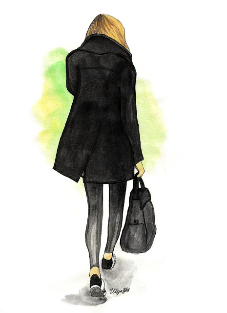 fashion black coat (465x640, 47Kb)