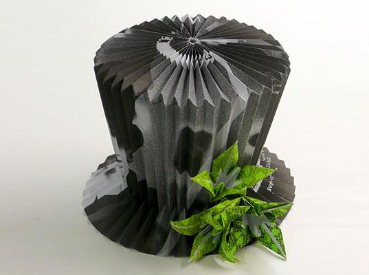 шляпа из бумаги (537x400, 107Kb)