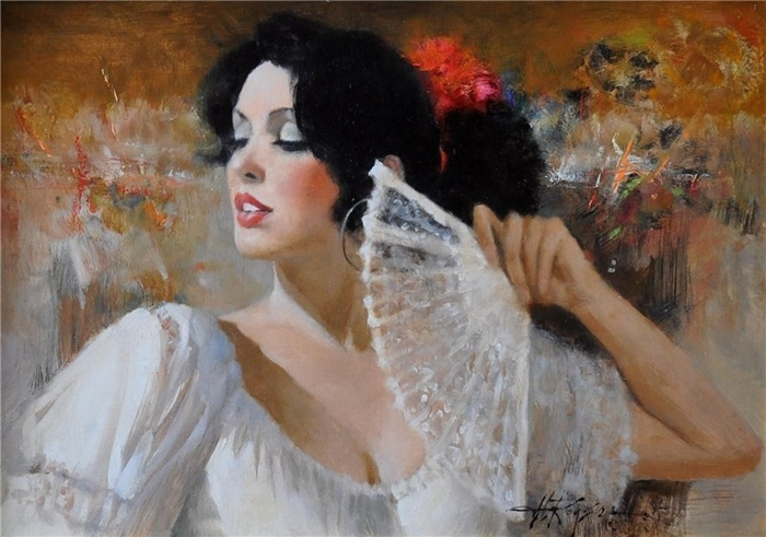 Howard Rogers 1932 - Americam Figurative painter - Tutt'Art@ (3) (700x491, 254Kb)