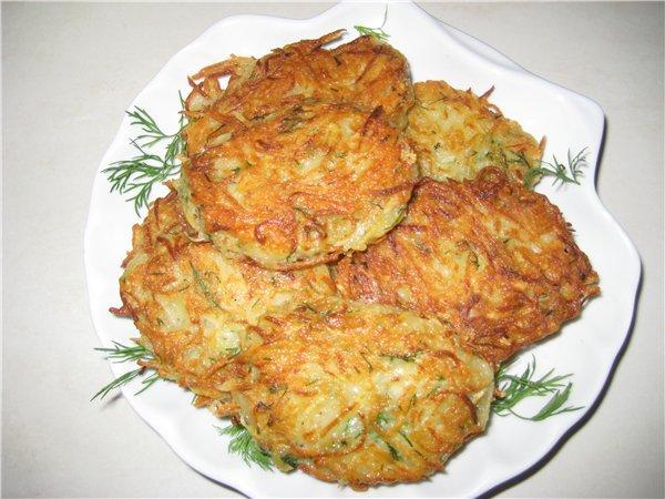 Драники картофельные с рецепт