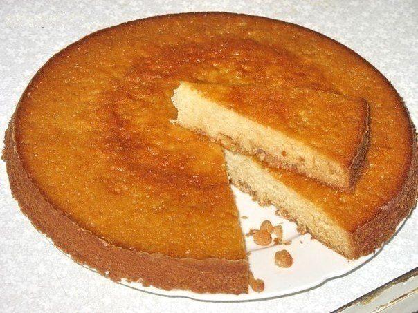 бисквит рецепт со сметаной с фото