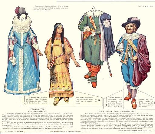 Boston Globe supplement Pocahontas (512x442, 279Kb)