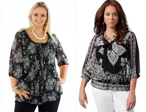 Модные блузки 2014 для полных в Уфе