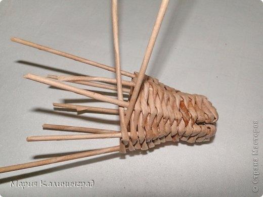 плетение из газет. лошадка из газетных трубочек (21) (520x390, 88Kb)