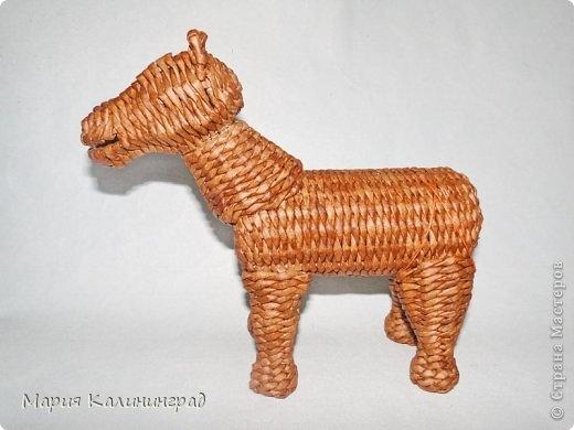плетение из газет. лошадка из газетных трубочек (41) (520x390, 93Kb)