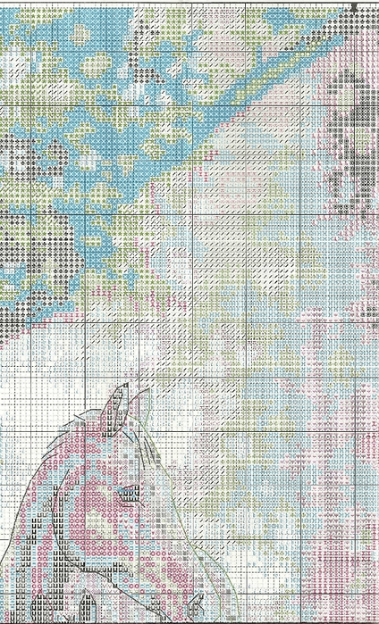 Stitchart-Mare-and-foal2 (424x700, 349Kb)