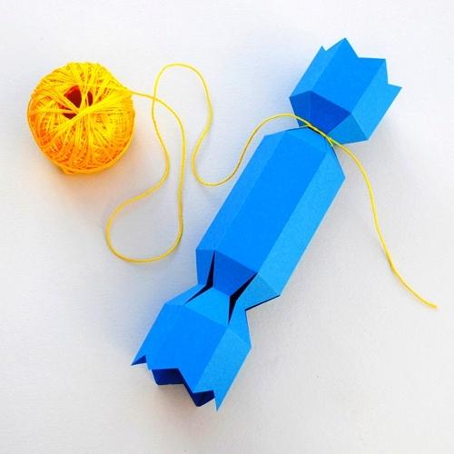 Своими руками конфеты из бумаги