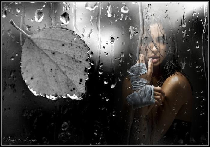 осень дождь (600x400, 230Kb)