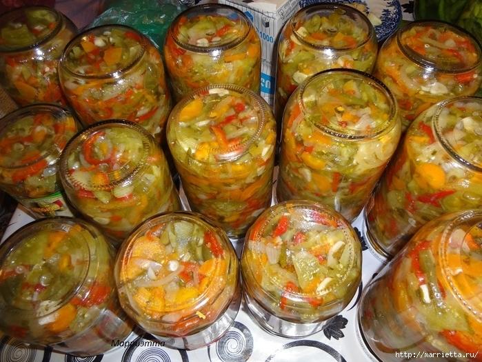 Салат из зеленых помидор с морковкой (19) (700x525, 360Kb)