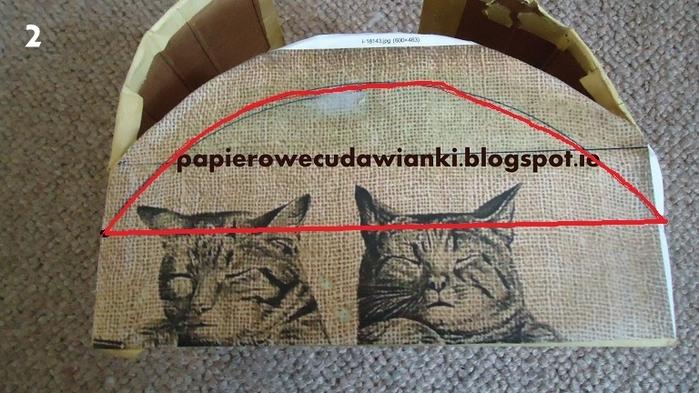 Плетение из газет. Шкатулка-сундучок из коробки. Мастер-класс (8) (700x393, 249Kb)