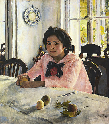 380px-Walentin_Alexandrowitsch_Serow_Girl_with_Peaches (380x431, 57Kb)