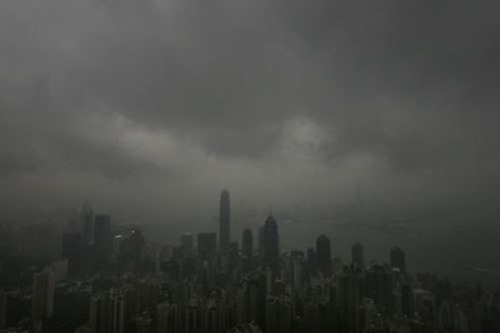 Тайфун «Фитоу» в Китае