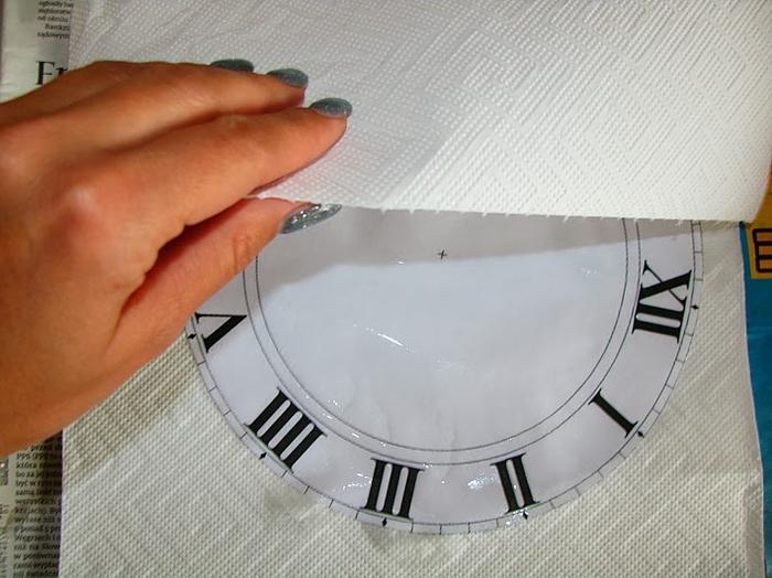 Своими руками. Часы с декупажем. Мастер-класс (4) (700x524, 234Kb)