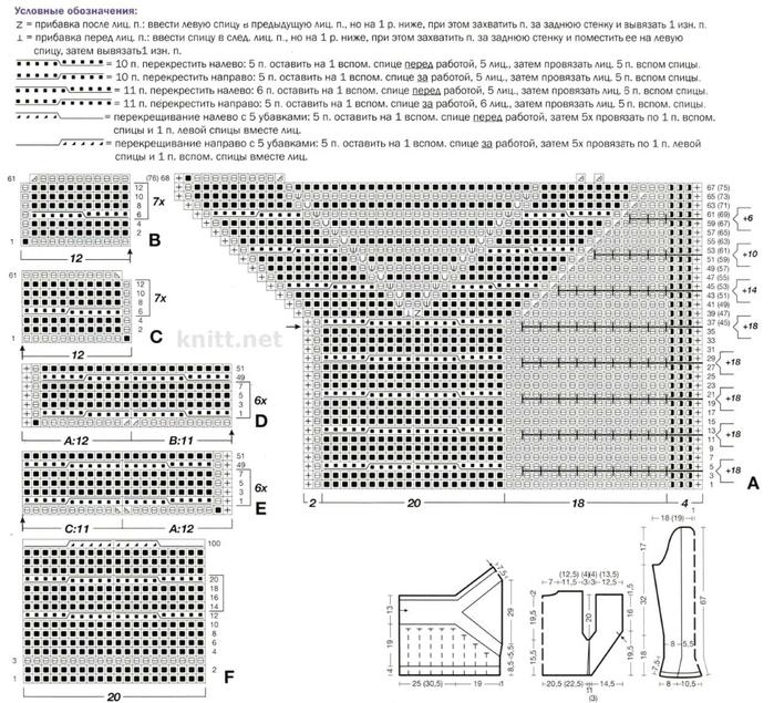 vyazanyj-kardigan-gorchichnogo-cveta-s-kosami-i-faldami-shema (700x635, 298Kb)
