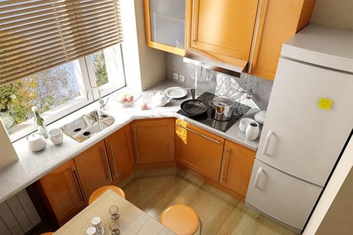 дизайн кухни в хрущевке (26) (700x466, 214Kb)