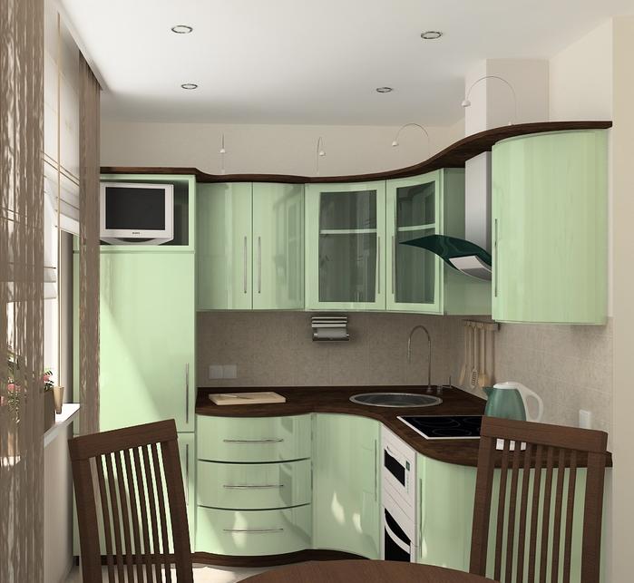 дизайн кухни в хрущевке (36) (700x643, 262Kb)