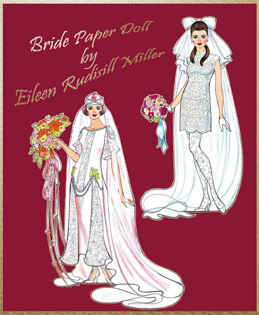 Bride Paper doll by Eileen Rudisill Miller1 Cover (527x640, 301Kb)