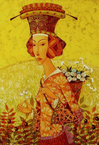 Ирма Кусиани   Любит не любит (411x600, 142Kb)