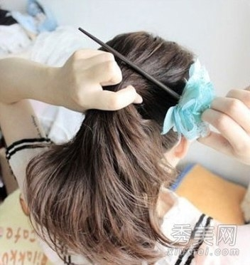 Палочки для волос как закалывать