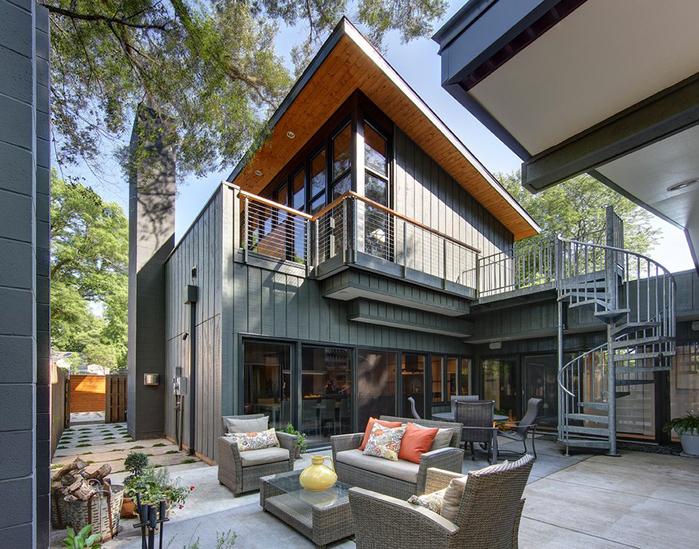 стильный дизайн частного дома (700x549, 503Kb)