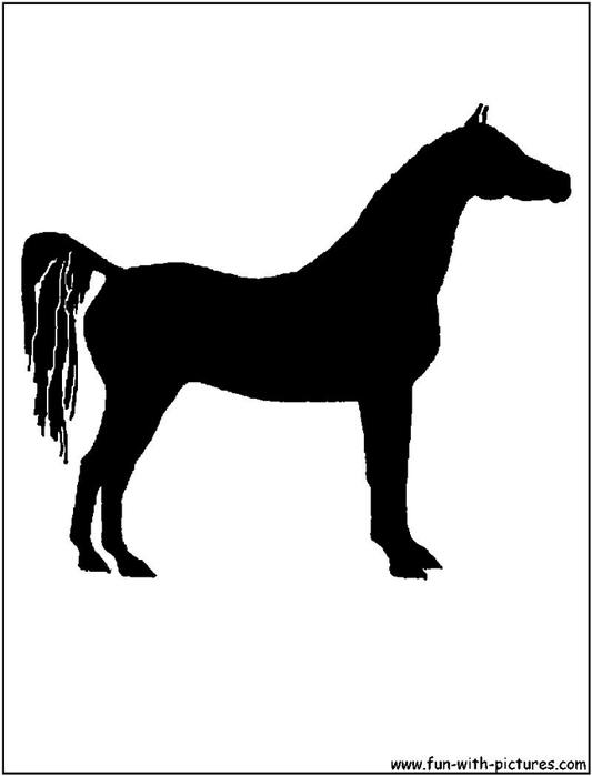 arabian-horse-silhouette (533x700, 42Kb)