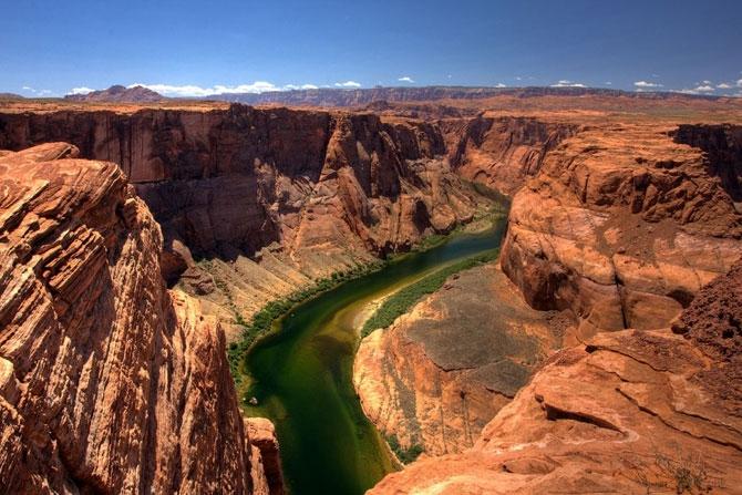 каньон реки колорадо в аризоне фото 3 (670x447, 252Kb)