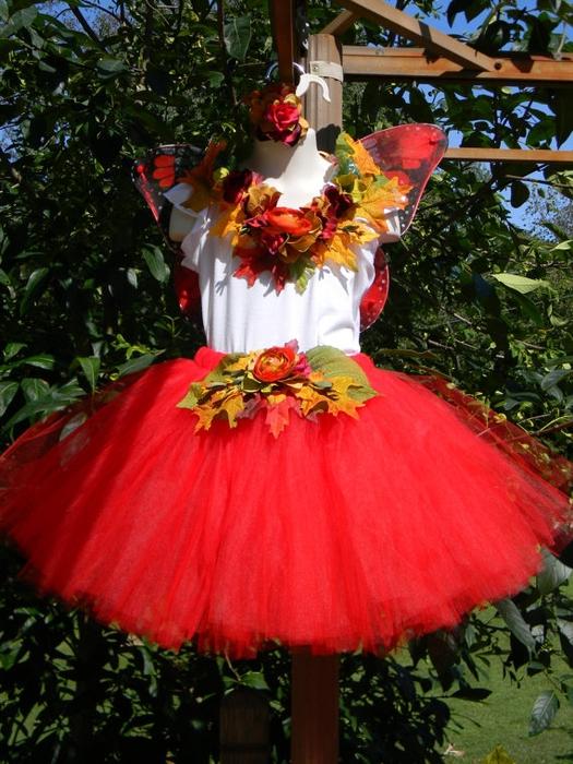 Костюм осени для девочки на праздник осени