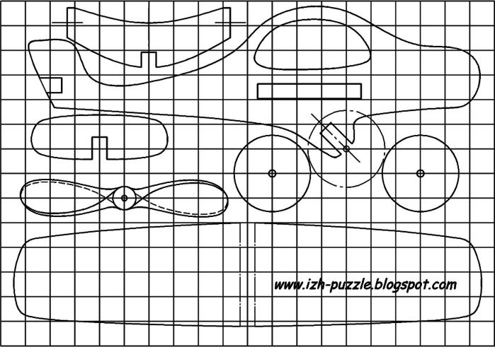 Игрушки из фанеры своими руками чертежи