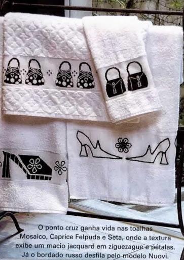 Черно-белая вышивка для банного полотенца (1) (363x512, 144Kb)