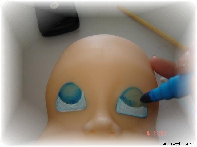 Как нарисовать глазки кукле из холодного фарфора (6) (640x480, 103Kb)