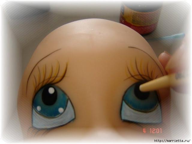Как нарисовать глазки кукле из холодного фарфора (16) (640x480, 115Kb)