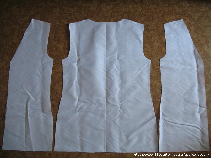 Пиджак без рукавов сшить