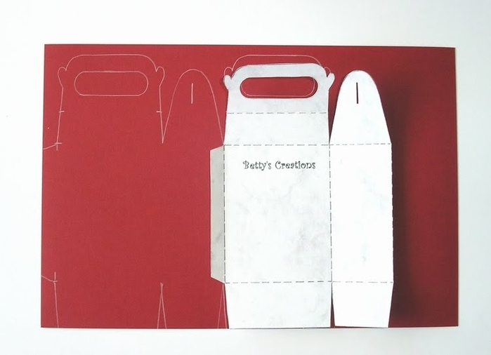 Коробочки, корзинки и новогодние игрушки из картона. Шаблоны (3) (700x506, 137Kb)