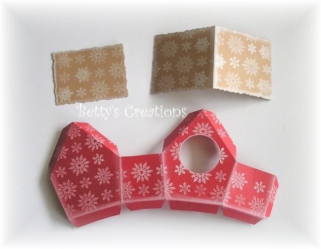 Коробочки, корзинки и новогодние игрушки из картона. Шаблоны (5) (650x504, 173Kb)